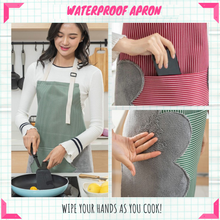 Load image into Gallery viewer, Easy Cook - Multi-functional Kitchen Apron Green Aprons