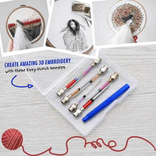 Easy Craft Embroidery Needle (10 pcs set) Sewing Needles