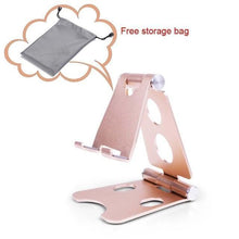 Load image into Gallery viewer, Easy Hold - Foldable Phone Holder Gold Tablet Stands