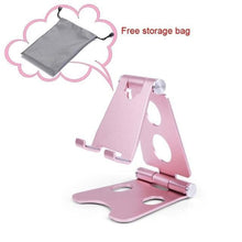Load image into Gallery viewer, Easy Hold - Foldable Phone Holder Pink Tablet Stands