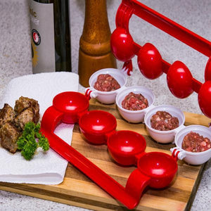 Easy Stuffed Meatball Maker Patty Makers