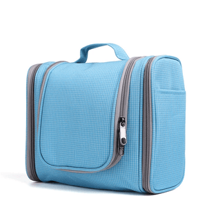 Easy Travel® 2nd Generation - Ultimate Toiletry Handbag Grid blue Travel Bags