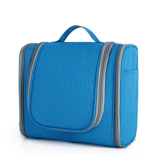 Easy Travel® 2nd Generation - Ultimate Toiletry Handbag Solid blue Travel Bags