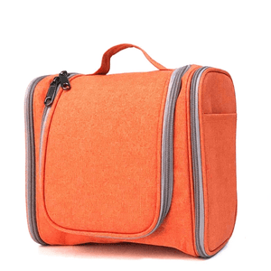 Easy Travel® 2nd Generation - Ultimate Toiletry Handbag Solid orange Travel Bags
