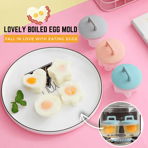 Eat-in-Shape Egg Mold (5 pcs set) Egg Poachers