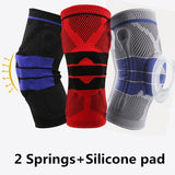 Elbow and Knee Pads Nylon Silicon Knee Sleeve