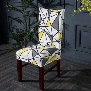 Elegant Look Multi-colored Chair Cover Chair Cover