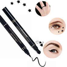 Load image into Gallery viewer, Eyeliner O.TWO® Tattoo stamps & Long lasting eyeliner