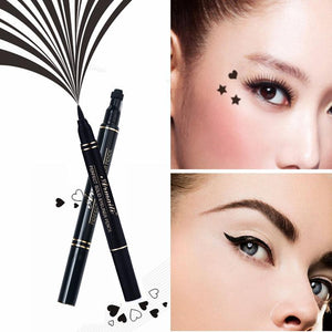 Eyeliner O.TWO® Tattoo stamps & Long lasting eyeliner