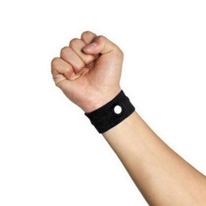 Fast Efficiency Anti Nausea Wristband Black Wrist Support