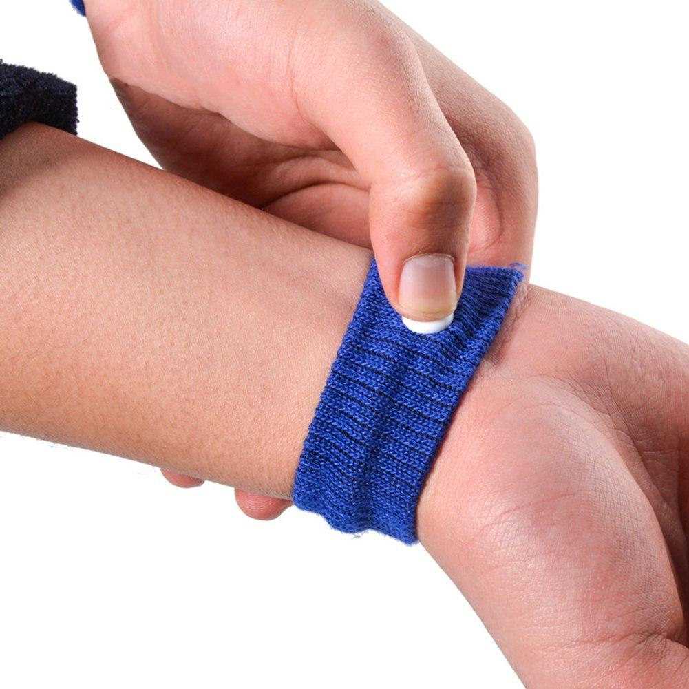 Fast Efficiency Anti Nausea Wristband Blue Wrist Support