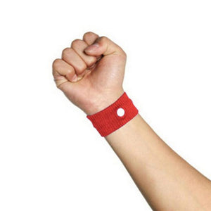 Fast Efficiency Anti Nausea Wristband Red Wrist Support