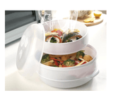 Fast & Healthy Food Steamer Microwave Steamer