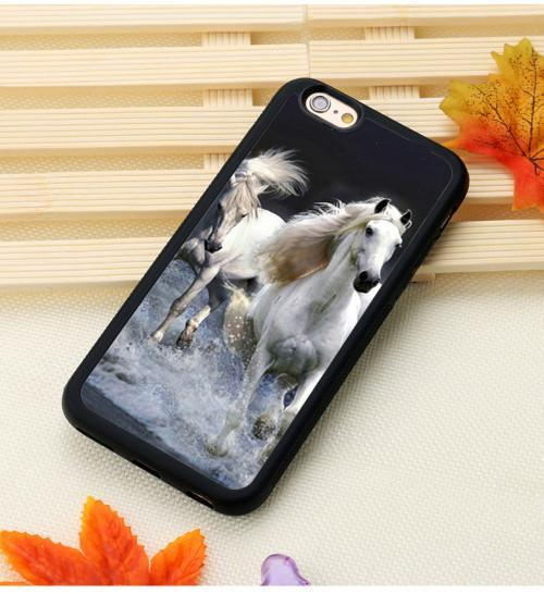 Fitted Cases 1 / For iPhone 7 Horse Running Printed iPhone Case