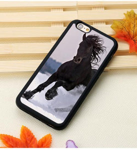 Fitted Cases 2 / For iPhone 7 Horse Running Printed iPhone Case