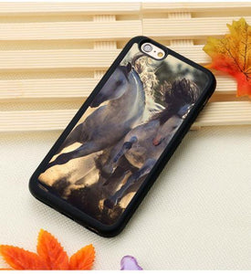 Fitted Cases 3 / For iPhone 7 Horse Running Printed iPhone Case