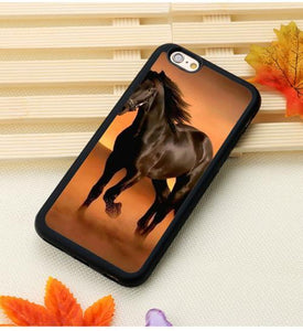 Fitted Cases 5 / For iPhone 7 Horse Running Printed iPhone Case
