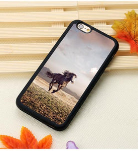 Fitted Cases 6 / For iPhone 7 Horse Running Printed iPhone Case