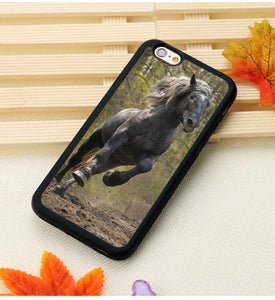 Fitted Cases 9 / For iPhone 7 Horse Running Printed iPhone Case
