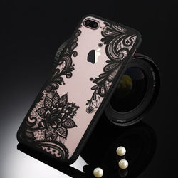 Fitted Cases Black flower / For iPhone 5 / 5s SE Oriental Flower Case