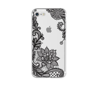 Fitted Cases Oriental Flower Case