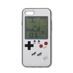 Fitted Cases White Retro Game Console iPhone Case