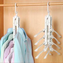 Load image into Gallery viewer, Flexible Closet Hanger (360 Degree) Closet Hanger