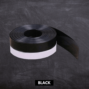 Flexible Weather Door Seal Strip Black / Small (5 m x 25 mm) Seal Strip