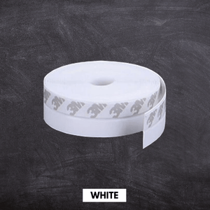 Flexible Weather Door Seal Strip White / Small (5 m x 25 mm) Seal Strip