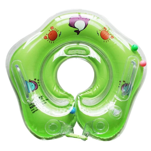 Float & Have Fun - Baby Neck Floating Ring Green Floating ring