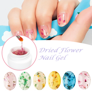 Flower Magic - Dried Nail Gel Light pink Nail Gel