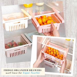 Fridge Saver - Multipurpose Storage Drawer Food Separator
