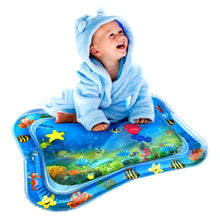 Load image into Gallery viewer, Fun Inflatable Water Mat Blue Playmats