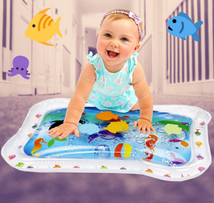 Fun Inflatable Water Mat White Playmats