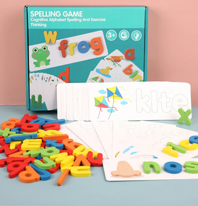 Fun Learning - Wooden ABC Spelling Game