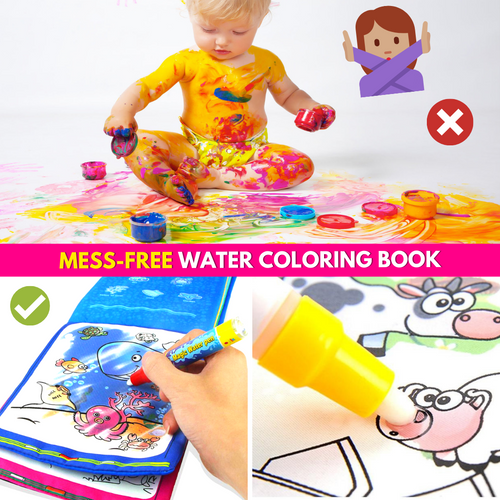 Fun & Magical Water Coloring Book Drawing Toys