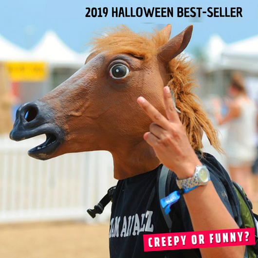 Funny Horseman - Horse Head Mask Party Masks