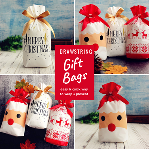 Give Love - Christmas Gift Bag Set Christmas Bags