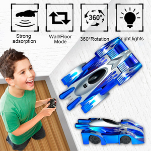 Gravity Defying RC Toy Car Blue Toy Car