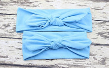 Load image into Gallery viewer, Hair Accessories blue Mom & Me Boho Headband Set