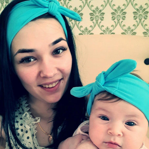 Hair Accessories Mom & Me Boho Headband Set