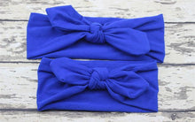 Load image into Gallery viewer, Hair Accessories navy Mom & Me Boho Headband Set