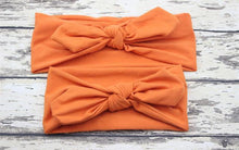 Load image into Gallery viewer, Hair Accessories orange Mom & Me Boho Headband Set