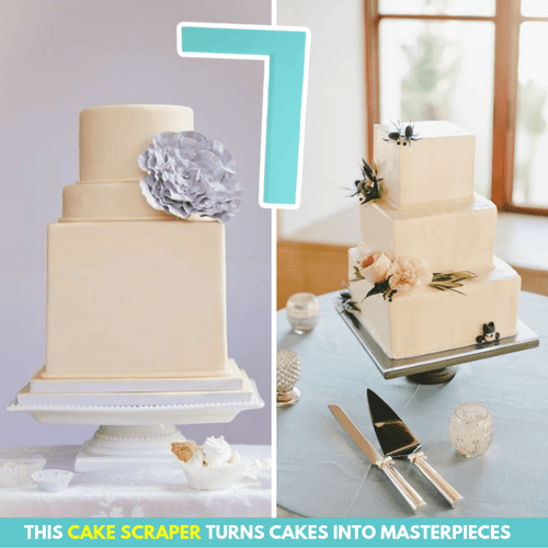 Happy Baker® Stylish Cake Scrapers Design A Cake Molds