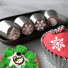 Load image into Gallery viewer, Happy Baking - Christmas Nozzle Kit (16 pcs set) Christmas Nozzle