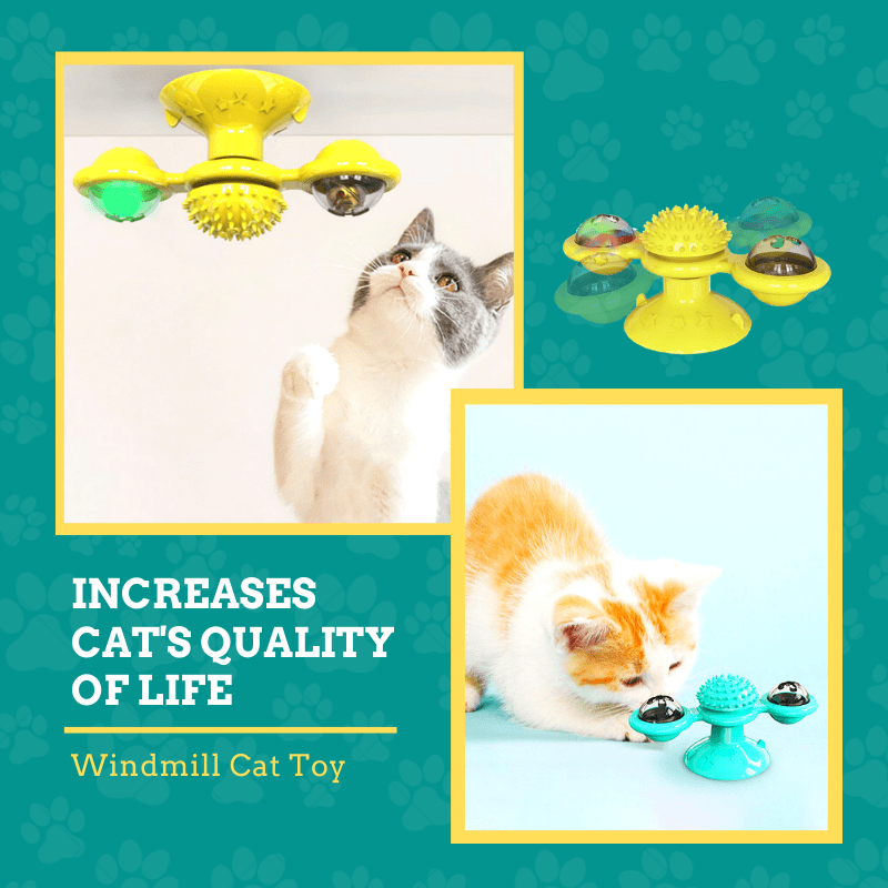 Happy Pet - Windmill Cat Toy Cat Toy