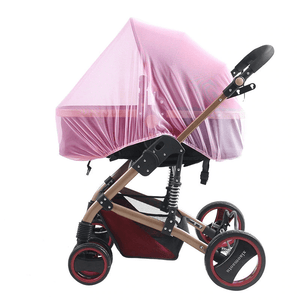 Happy Stroll® Universal Stroller Mosquito Net Pink Crib Netting