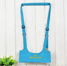 Load image into Gallery viewer, Harnesses & Leashes Sky blue On Clouds Infant walking assistant