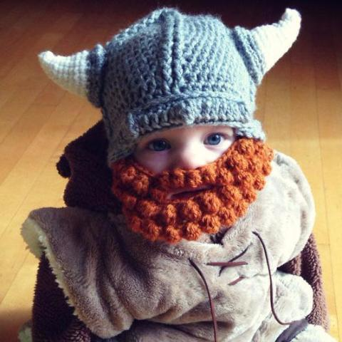 Hats & Caps Viking / 3 - 6 years Viking baby hat