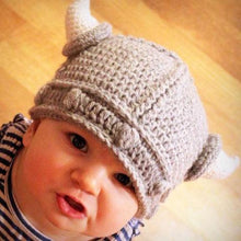 Load image into Gallery viewer, Hats & Caps Viking baby hat